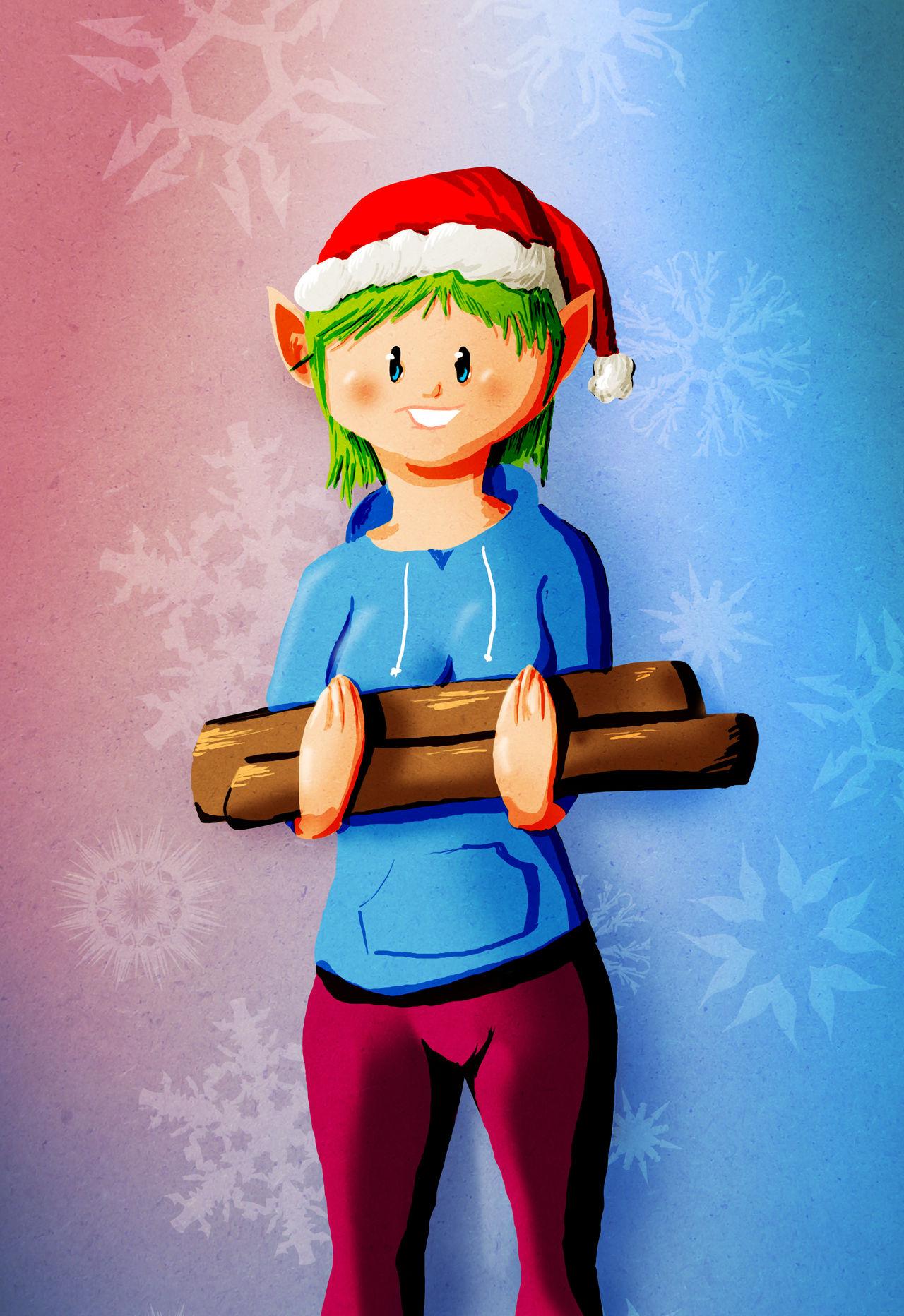 Elf Help by tekitsune