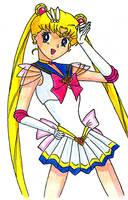 Sailor Moon: Usagi by tekitsune