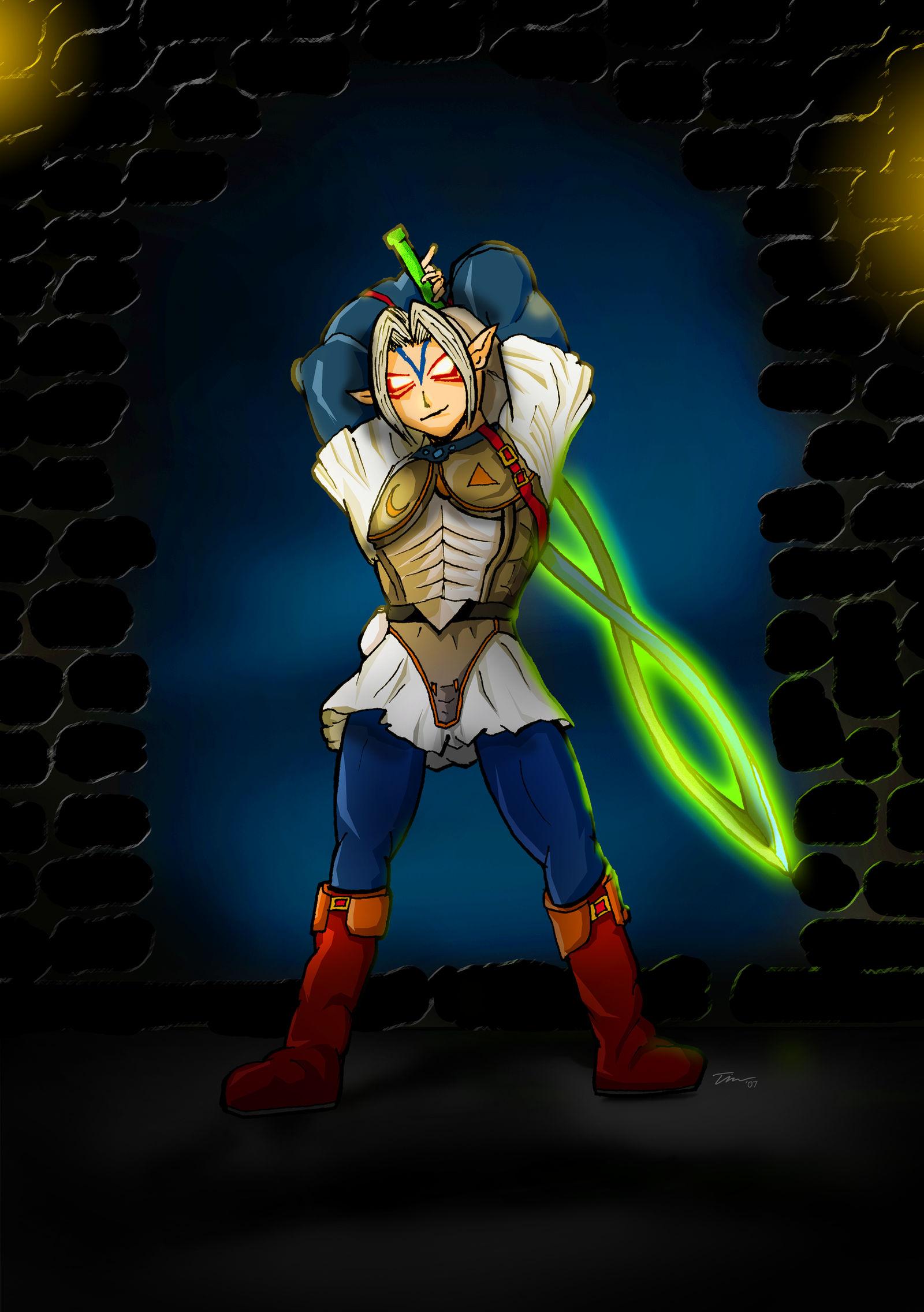 The Legend of Zelda: Oni Link