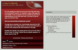 How To CSS Info by tekitsune