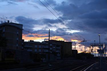 Urban Sky by ImperviousPencil