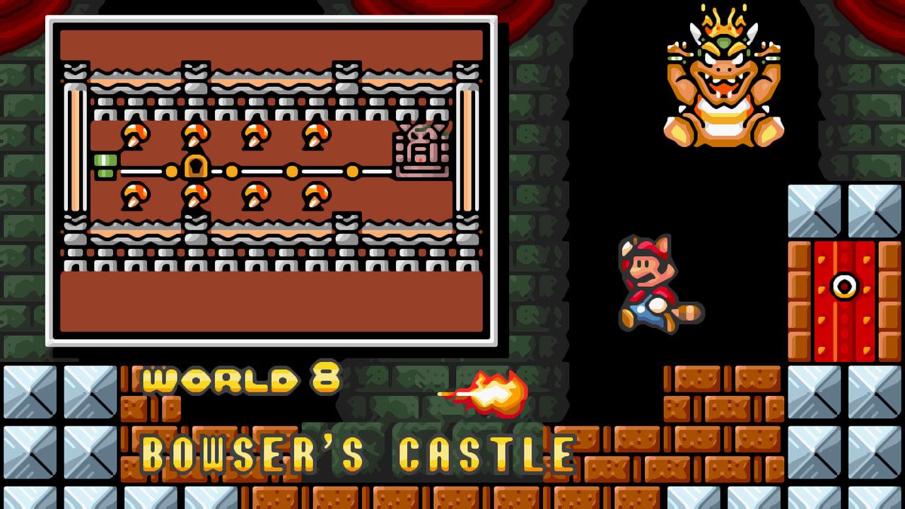 Super Mario Bros 3 16bit World 8 Wallpaper Xbrz By
