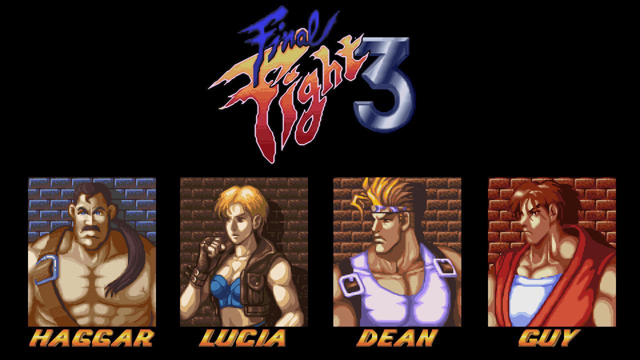 Final Fight 3 Wallpaper By Citanoo On Deviantart