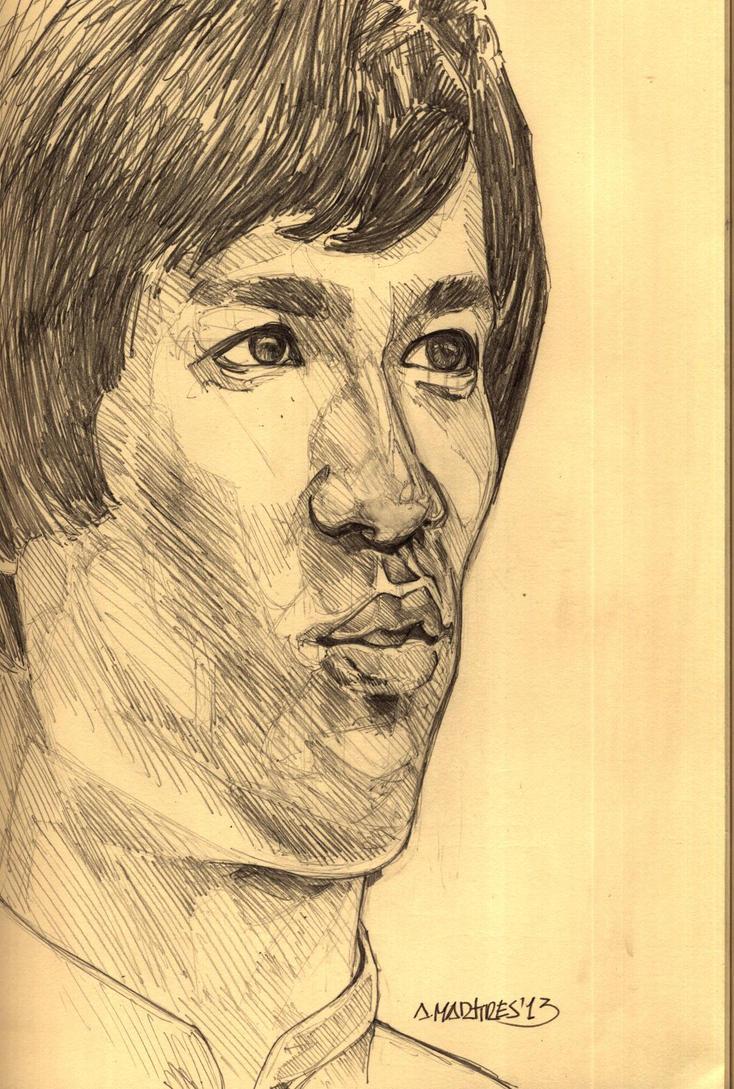 Bruce Lee Sketch by amartires