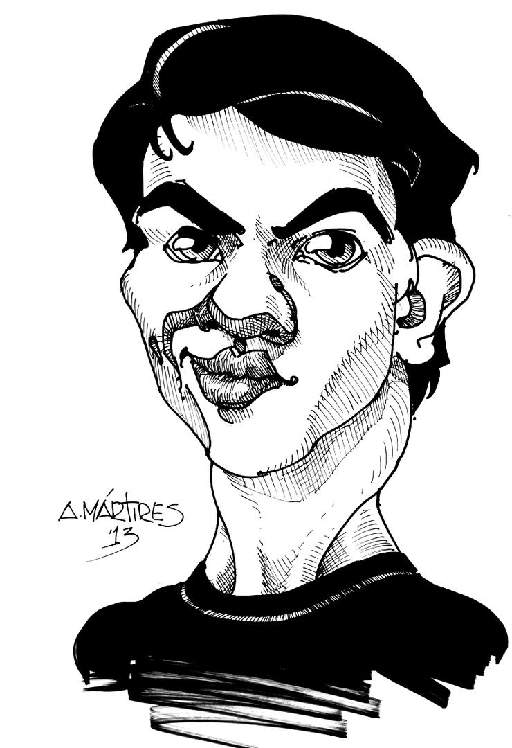 Self Caricature by amartires