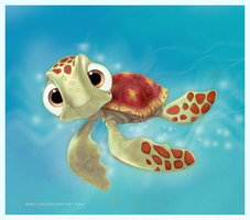 finding nemo: squirt