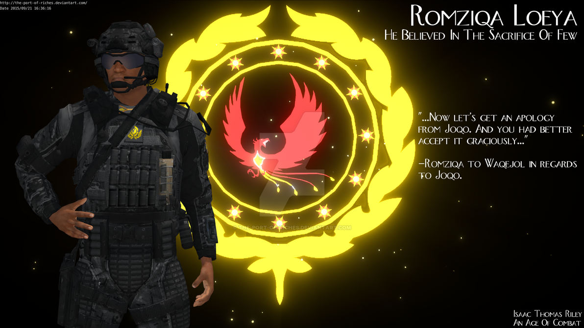 Romziqa Loeya (An Age Of Combat Preview) by The-Port-of-Riches