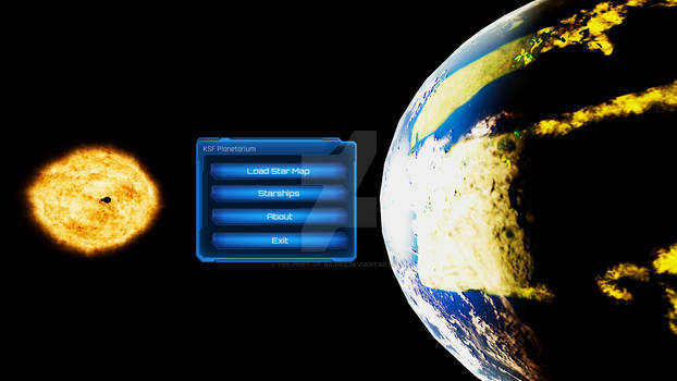 KSF Planetarium Main Menu