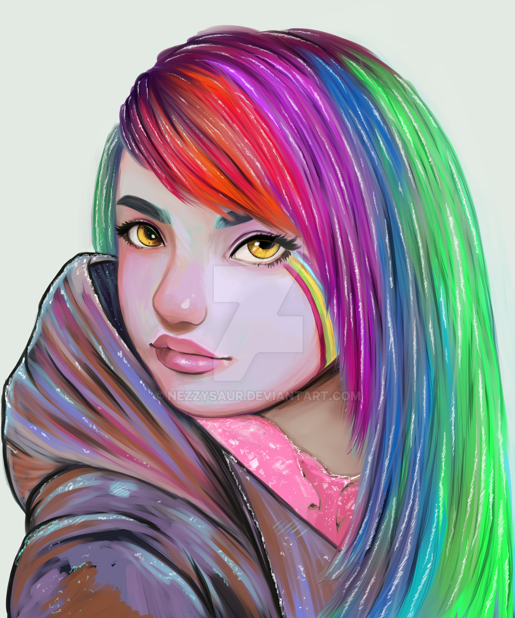 Rainbow by nezzysaur