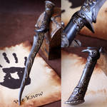 Ebony Dagger from Skyrim