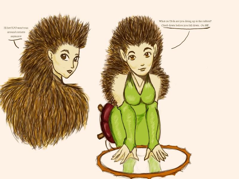 Acacia Burdock by Inkerbel