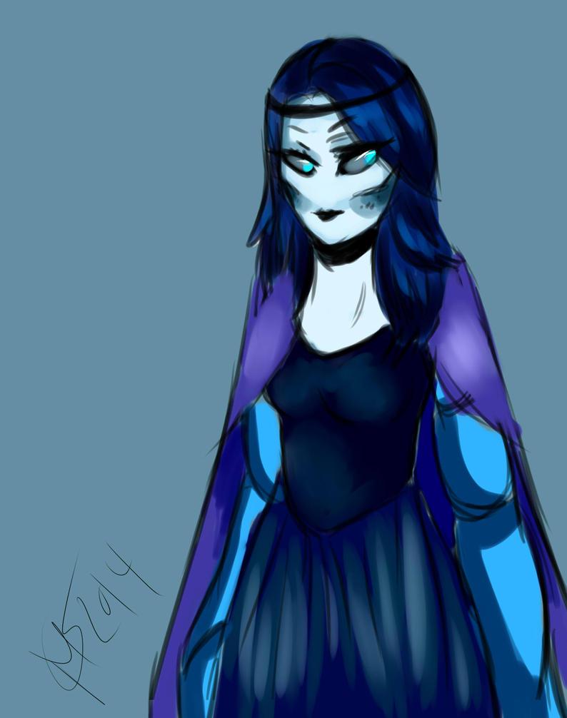 Queen Cystra Blue quartz form by keyace