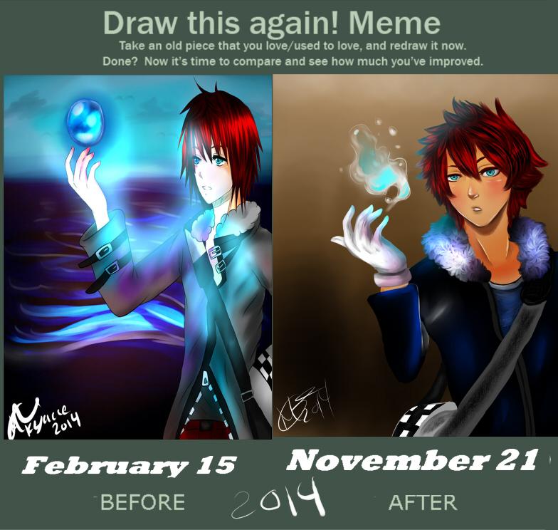 Draw this again meme by keyace