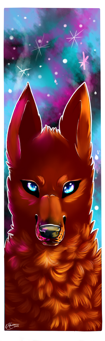 Bookmark , commission example by keyace