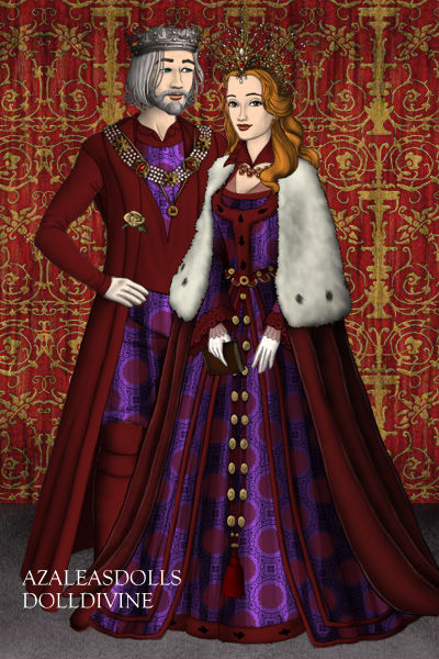 King Maron Ragno and Queen Penelope Ragno by gxfan537