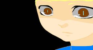 Young Arnold Yuki feeling scared