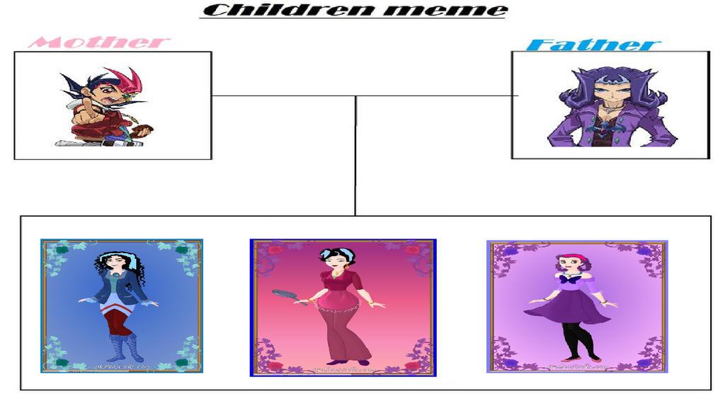 children_meme_sharkbaitshipping_family__by_gxfan537 d91z9l9 yu gi oh zexal shipping familes by gxfan537 on deviantart