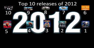 Top 10 Releases Of 2012 Meme