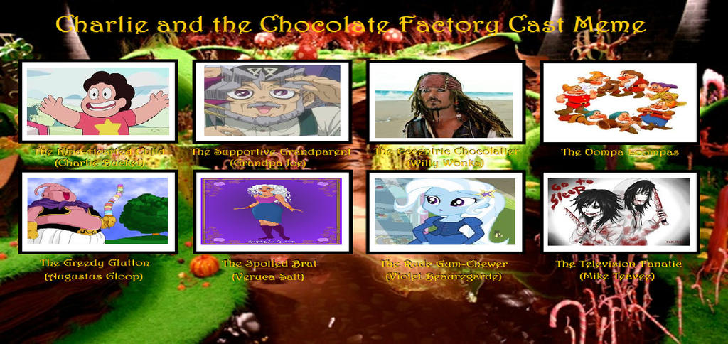 Chocolate Factory Cast