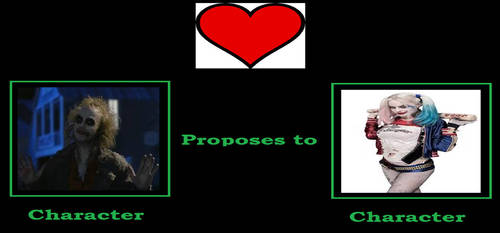 My What If Character Proposes To Meme by gxfan537