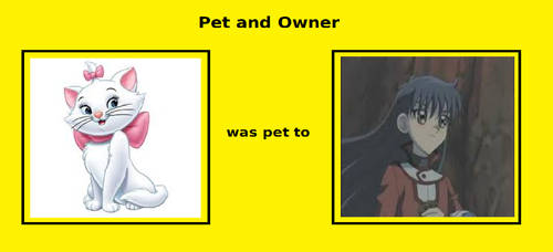 My Pet And Owner Meme by gxfan537