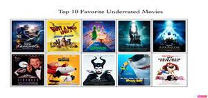 My Top 10 Favorite Underrated Movies Meme
