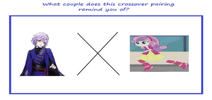 My What Couple Does This Crossover PRYO Meme