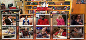 My Top 10 The Big Bang Theory Characters Meme