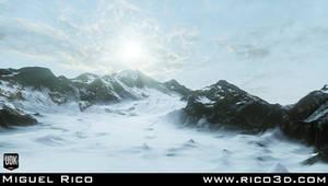 Snow Environment Wip 01