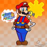 Super Mario Sunshine by SMALFLP