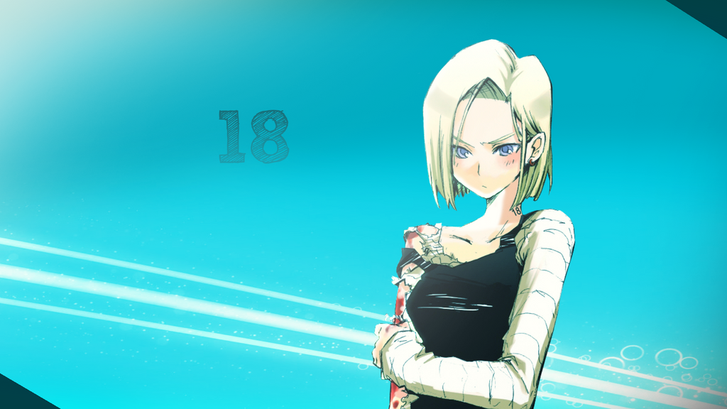Android 18 1080p HD Wallpaper By RaftProduction On DeviantArt