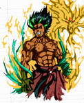 Human Dragon Fighter