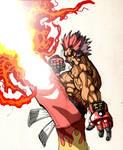 Senzui Burning Kick