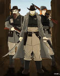 Western Imperial Guard: Sergeant and Gunslingers