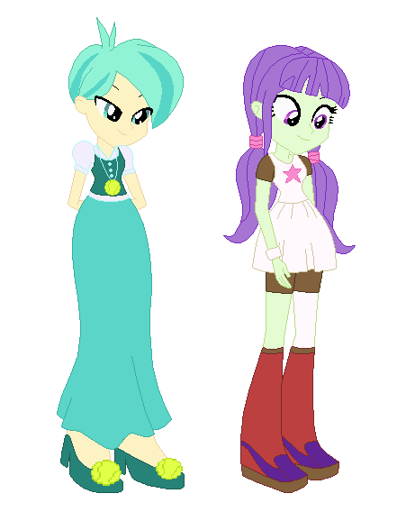 Mlp Fis Eqg Tennis Match And Starlight by mariairini
