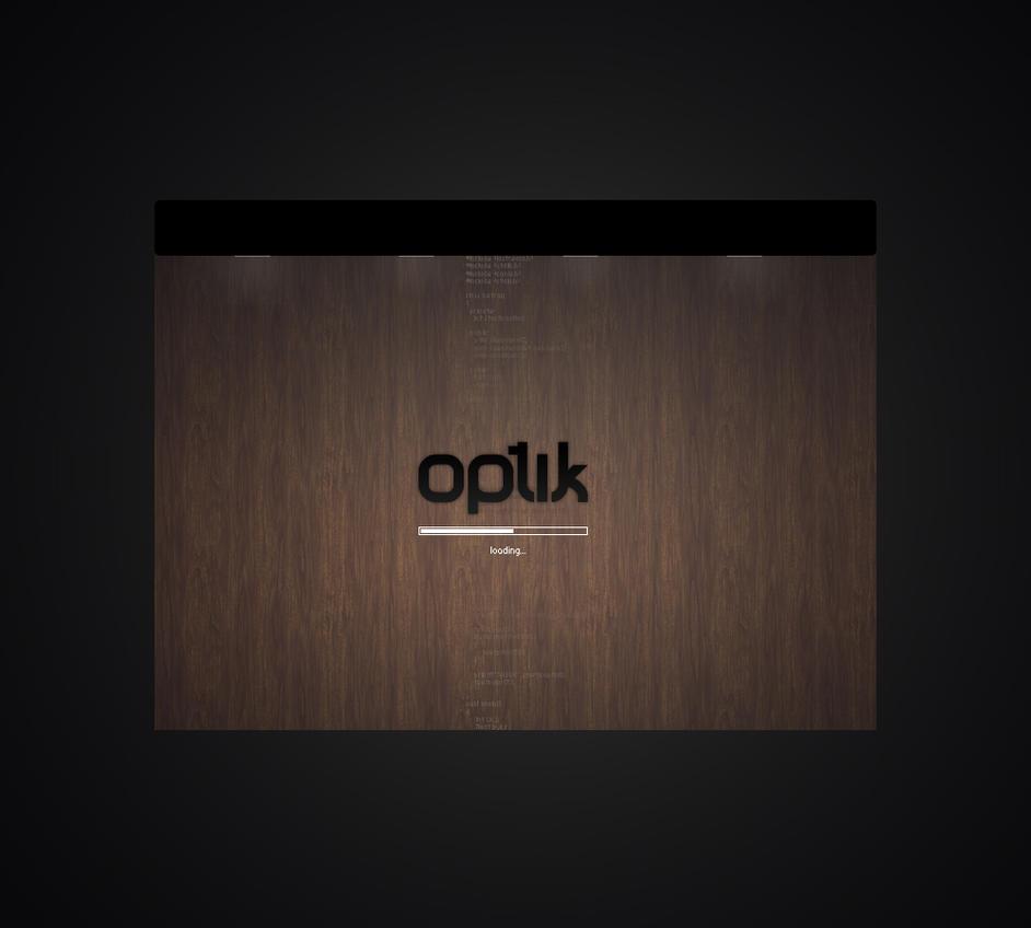 optik - flash intro by mD-06