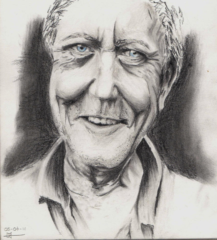 Cecilou-chan - Un crayon à la main Gentle_old_man_by_cecilou_chan-d3lfbht