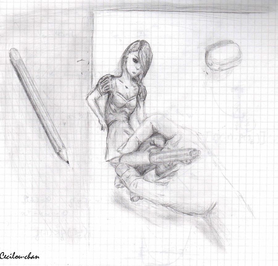 Dessins by Cecilou +1 le 22/12 p5 Getting_alive_by_cecilou_chan-d46mmdj