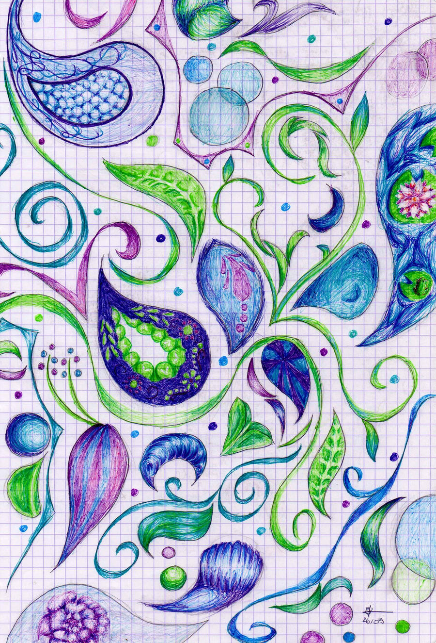 Dessins by Cecilou +1 le 22/12 p5 Playing_with_colors_by_cecilou_chan-d4b3kj3