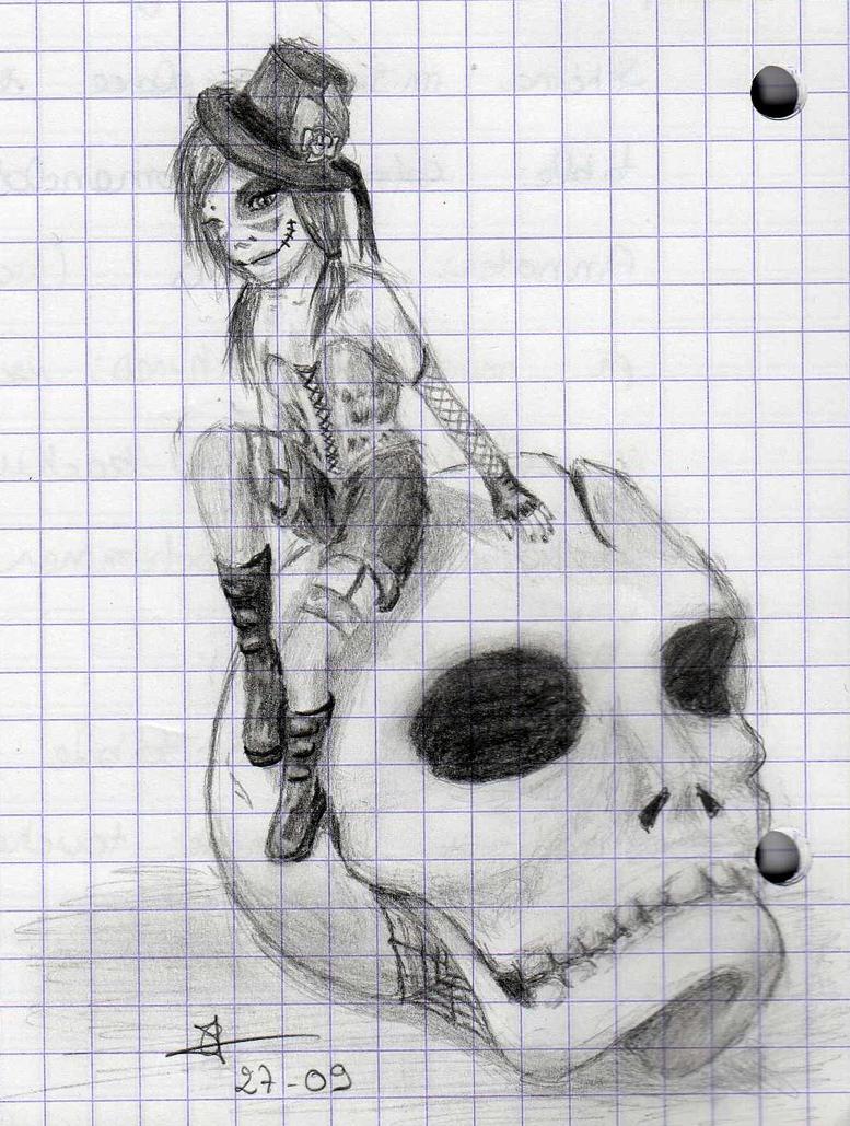Cecilou-chan - Un crayon à la main Pretty_in_punk_by_cecilou_chan-d4b3l1e