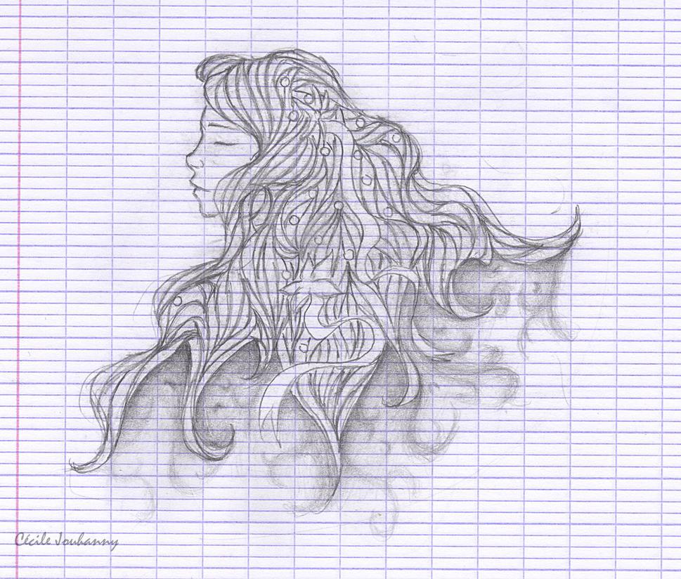 Cecilou-chan - Un crayon à la main Dreaming_by_cecilou_chan-d5ubidt