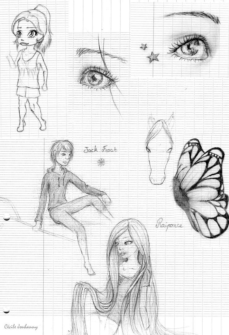 Cecilou-chan - Un crayon à la main Class_doodles_by_cecilou_chan-d606w5z