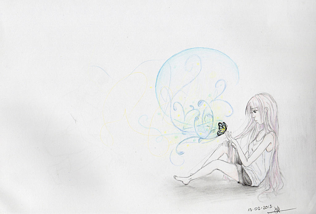 Cecilou-chan - Un crayon à la main Feeling_lonely_by_cecilou_chan-d6nino3