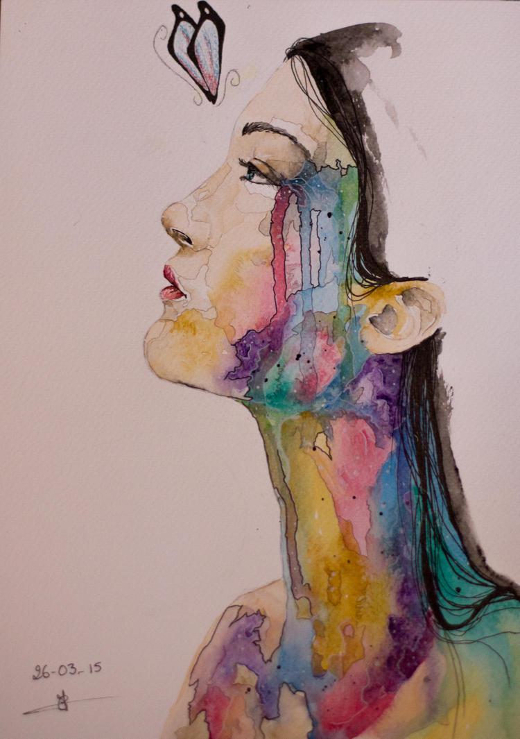 Cecilou-chan - Un crayon à la main Fly_away_by_cecilou_chan-d8n6tsl