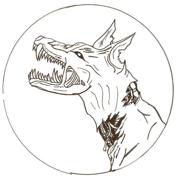 biomech hellhound by kimerawolf on deviantart. Black Bedroom Furniture Sets. Home Design Ideas
