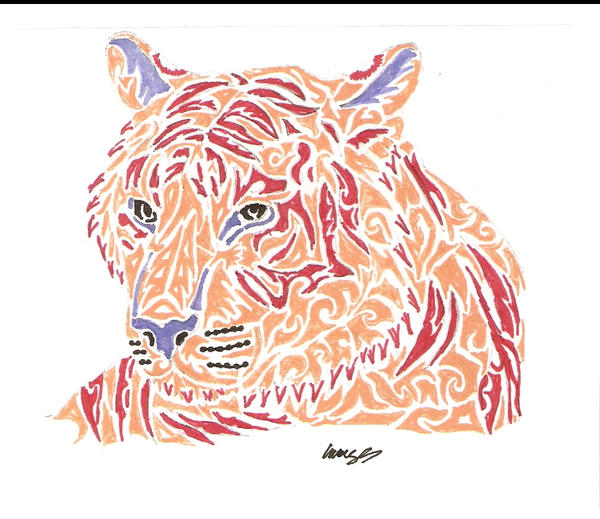 Tribal Tiger By Ruttan On Deviantart: Corey Tattoo Design: Tattoo Gallery By Katie Carlton