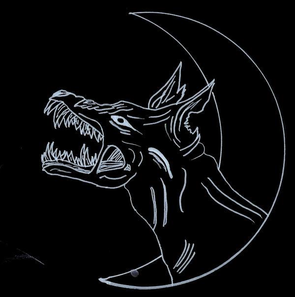 hellhound tattoo design invert by kimerawolf on deviantart. Black Bedroom Furniture Sets. Home Design Ideas