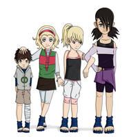 The Nara-Yamanaka Children by zutarafan4