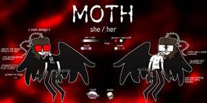 .:REF:. MOTH by mothgodz