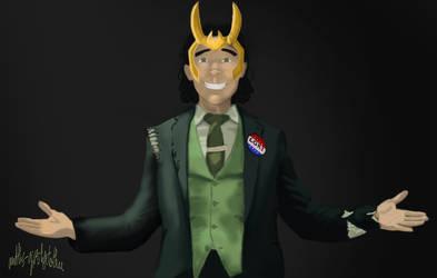 Vote Loki (Loki's serie Trailer)